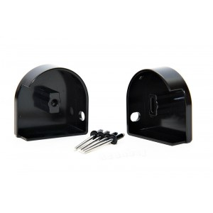 Aluminum Cargo Cover End Cap Set Type 1