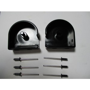 Aluminum Cargo Cover End Cap Set Type 2