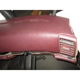 Used burgundy dashboard