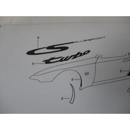 CS Club Sport Fender Decal