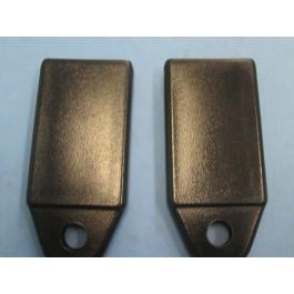 Rear seat belt cap
