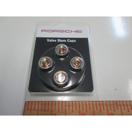 Crested Valve Stem Cap Set