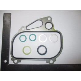 oil cooler housing gasket set