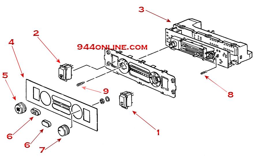 944 porsche ac wiring diagram  schematic diagram