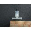 windshield washer T valve