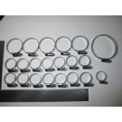 944 Turbo Water Hose Clamp Kit genuine