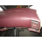 Used burgundy dashboard
