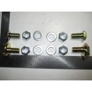 Rear spring plate hardware kit