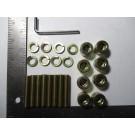 Intake manifold hardware kit 924s 944 951
