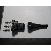 reference sensor connector 3 pin female for harness end